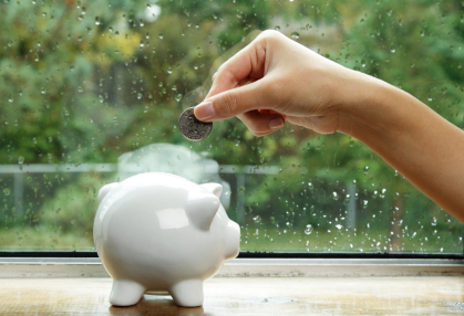 iStock 000002551023XSmall Saving Your Pennies For A Rainy Day