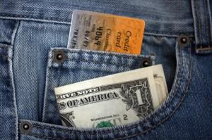Credit card or dollars