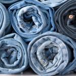 roll denim jeans