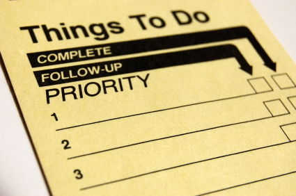 What Are Your Priorities? Choosing Where You Spend Your Time