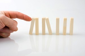 stopping the domino effect